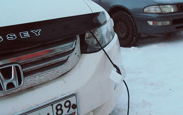 Как готовят автомобили к экстремальному холоду Заполярья. Фото 8