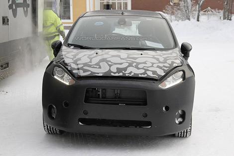 Появились шпионские фотографии обновленного хэтчбека Ford Fiesta. Фото 1
