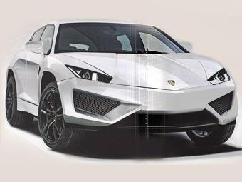 Lamborghini в апреле представит внедорожник