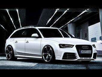 Мощность двигателя нового Audi RS4 перестала быть секретом