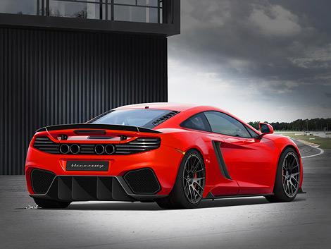 Ателье Hennessey разработало проект тюнинга спорткупе McLaren MP4-12C