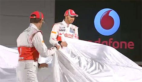 Британский гоночный коллектив представил автомобиль для сезона 2012 года