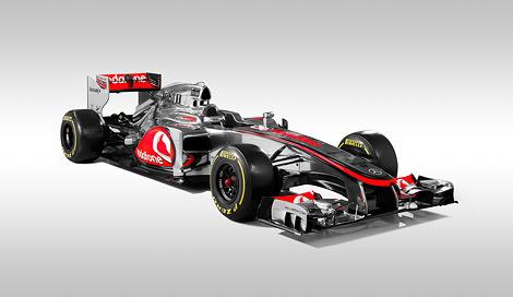 Британский гоночный коллектив представил автомобиль для сезона 2012 года. Фото 2