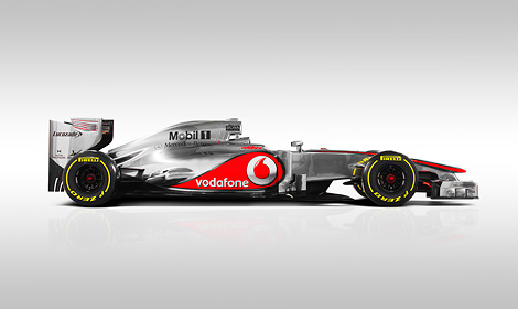 Британский гоночный коллектив представил автомобиль для сезона 2012 года. Фото 3