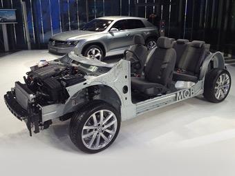 """VW показал внутренности """"седьмого"""" Golf"""