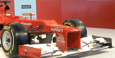 Гоночному автомобилю команды Формулы-1 Scuderia Ferrari присвоен индекс F2012. Фото 1