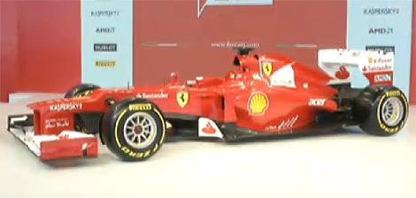 Гоночному автомобилю команды Формулы-1 Scuderia Ferrari присвоен индекс F2012. Фото 2
