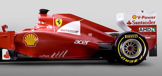 Гоночному автомобилю команды Формулы-1 Scuderia Ferrari присвоен индекс F2012. Фото 3