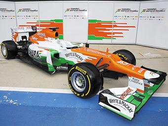 В Великобритании рассекретили новый болид Force India