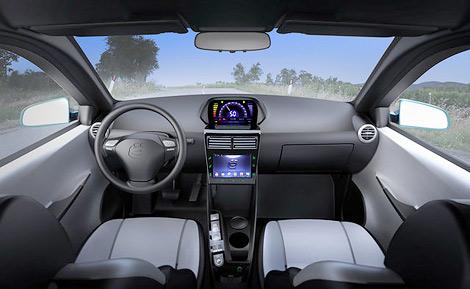 Автомобиль получил мультимедийную систему на ОС Android с доступом в интернет