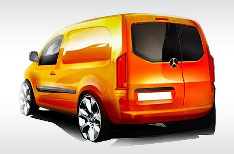 В сентябре немецкая компания представит новый фургон под названием Citan