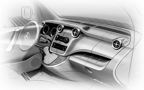 В сентябре немецкая компания представит новый фургон под названием Citan. Фото 1