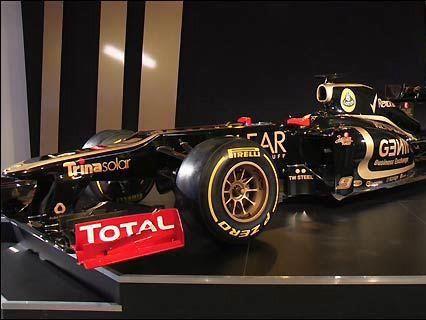 Команда Lotus представила новую машину Райкконена