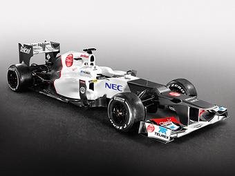 Кобаяси и Перес представили новый болид команды Sauber