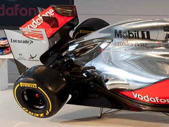На презентации болида McLaren муляж выдали за новые детали