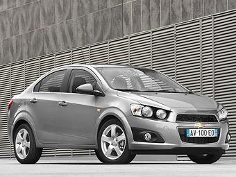 Объявлены российские цены на новый седан Chevrolet Aveo