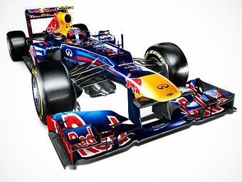 Чемпионская команда Формулы-1 показала изображения нового болида