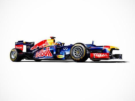 В интернете состоялась презентация болида Red Bull RB8