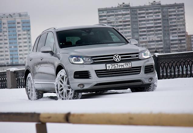 Длительный тест VW Touareg Hybrid: разбираемся, зачем нужны экологически чистые внедорожники. Фото 4