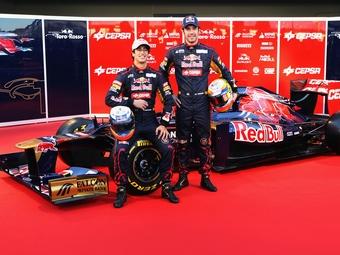 Toro Rosso представила свой новый автомобиль