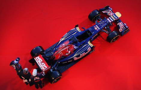 На трассе в Хересе был показан Toro Rosso STR7. Фото 1