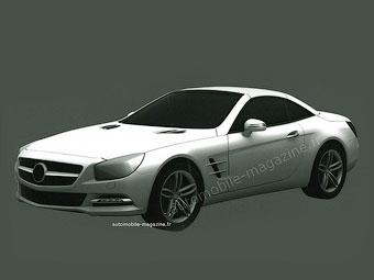 У Mercedes-Benz SL появится мотор V12