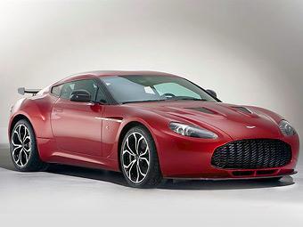 Представлен эксклюзивный суперкар Aston Martin V12 Zagato