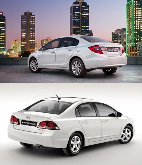 В России четырехдверная версия Honda Civic появится в марте. Фото 1