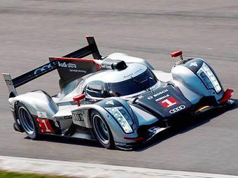 Audi показала гибридный прототип для Ле-Мана