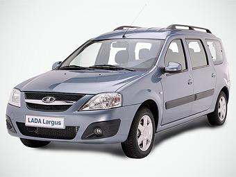 Продажи универсала Lada Largus стартуют в июне