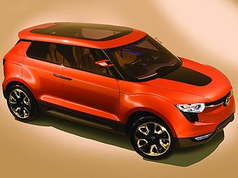 SsangYong привезет в Женеву конкурента Nissan Juke
