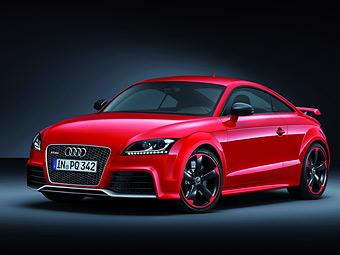 Компания Audi сделала модель TT RS еще мощнее