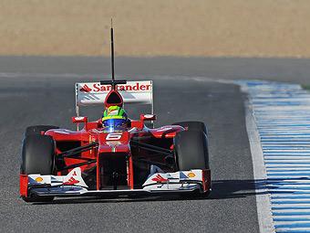 В команде Ferrari недовольны ходом предсезонных тестов