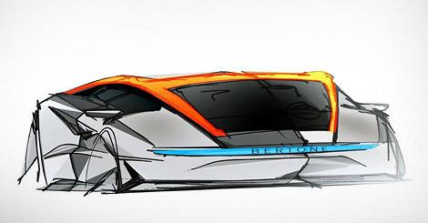 Компания назвала новый концепт-кар в честь сына своего основателя. Фото 1