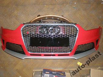 В Сеть попали снимки бамперов нового Audi RS4