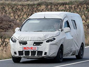 Dacia разработает конкурента Renault Kangoo