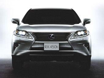 Появились первые изображения обновленного Lexus RX
