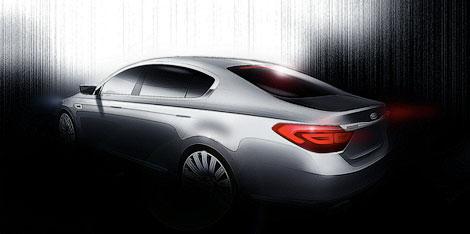 Появились изображения новой модели Kia, которая появится в Южной Корее во второй половине 2012 года