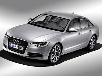В России начали продавать гибридный седан Audi A6