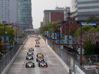 В гонках INDYCAR введут старты с места
