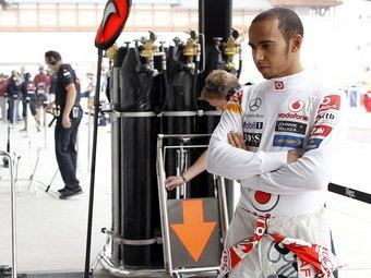 Льюис Хэмилтон остался недоволен новым болидом McLaren