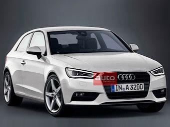 СМИ раздобыли первую фотографию нового хэтчбека Audi A3
