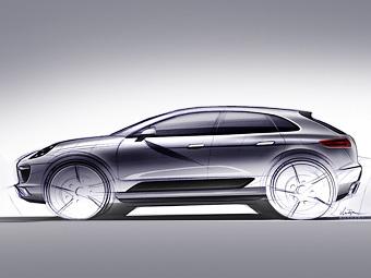 """Компания Porsche назвала свой компактный кроссовер """"тигром"""""""