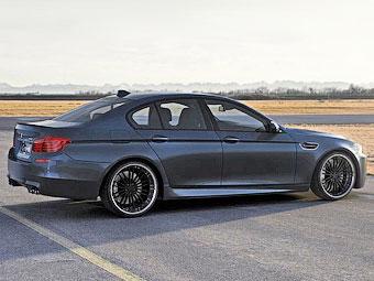 Немцы сделали новый седан BMW M5 640-сильным