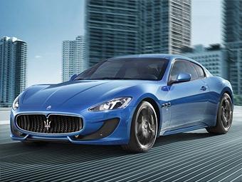 Купе Maserati GranTurismo в очередной раз подверглось доработке
