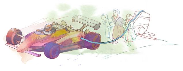 Как хитрили в автомобильном спорте