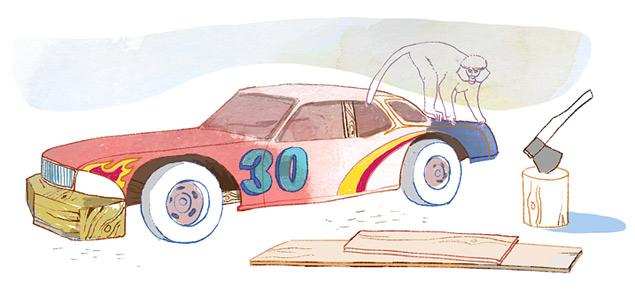 Как хитрили в автомобильном спорте. Фото 5
