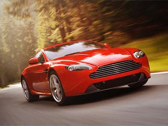"""""""Заряженный"""" Aston Martin Vantage V8 поделился узлами с базовыми моделями"""
