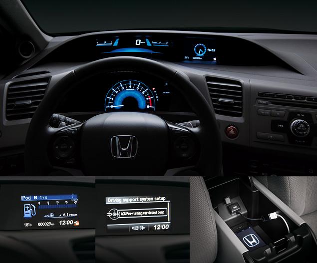 Тест-драйв седана Honda Civic нового поколения. Фото 2