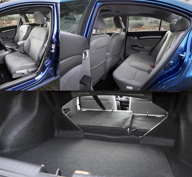 Тест-драйв седана Honda Civic нового поколения. Фото 4